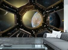 View from of Space Station  Photo Wallpaper Wall Mural DECOR Paper Poster