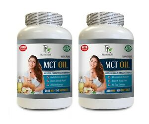 critical supporter digestion - MCT OIL - keto coconut oil 2BOTTLE