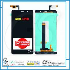 XIAOMI Redmi Note 3 Pro ASSEMBLATO DISPLAY LCD + TOUCH SCREEN NERO 150mm