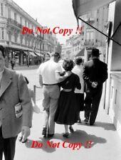 Peter & Louise Collins FERRARI F1 Portrait Grand Prix de Monaco 1956 PHOTO 1