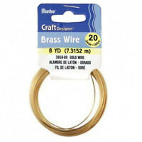 9ct Yellow Gold Solid Round Wire Soft 0.30mm x 100mm-Jewellery Making 28-Gauge