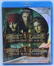 Pirates of the Caribbean : Dead man's chest - Disney movie 2x Blu-ray