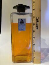 HUGE Vintage ARPEGE EAU DE LANVIN Parfums PERFUME BOTTLE  85% full 32 oz bottle?