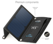 Solar Cell Panel Charger 15W 2A Foldable Portable Dual Usb Sun Power