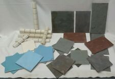 Mixed Lot of 30 + Vintage Wall Tiles ~Used~
