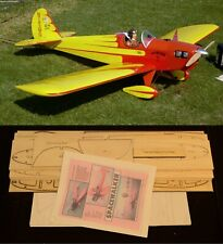 "91"" wingspan Spacewalker R/c Plane short kit/semi kit and plans"