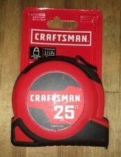 CRAFTSMAN SELF-LOCK 25-ft Auto Lock Tape Measure