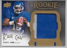 2011 11 UD EXQUISITE RANDALL COBB RPA 2 COLOR ROOKIE AUTO PATCH 116/135