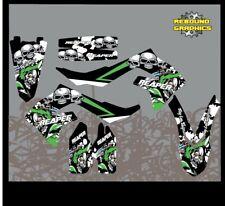 KAWASAKI KX KXF 65 85 125 250 kit de gráficos de 450 Piezas-Pegatina Kit Reaper