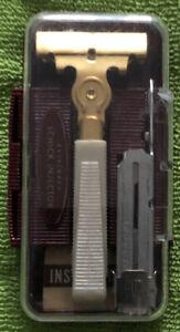 Vintage Schick Ever Sharp Razor Set with Instructions