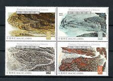 Macau Macao 2016 MNH Chinese Landscape Paintings 4v Block Art Stamps