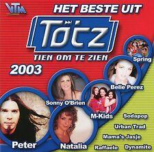 Het beste uit Tien om te Zien 2003 (CD)