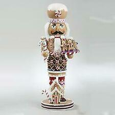 "Kurt Adler 16"" Gingerbread Nutcracker"
