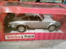 POLISTIL / TONKA 1/16 PORSCHE 911 TURBO TC  IN SILVER