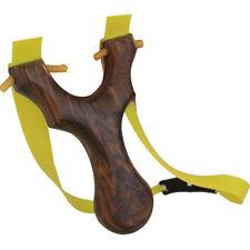 Wooden Sling Shot Hunting Catapults Rubber Bands Slingshot Outdoor Hunter Games
