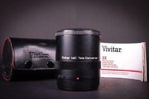 Vivitar 3x - 21 MC Tele Converter Olympus OM Fit
