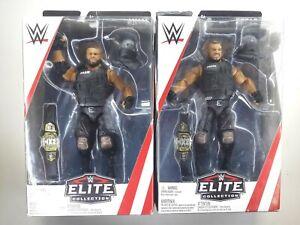 WWE MATTEL ELITE SERIES 62 AKAM & REZAR WRESTLING FIGURES