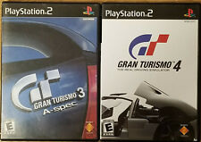 Gran Turismo 3 and 4 (Sony PlayStation 2, 2006) PS2 TESTED