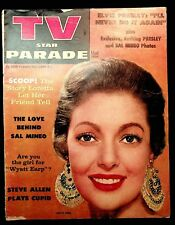 TV STAR PARADE - OCTOBER 1956 - ELVIS, MINEO, O'BRIAN, MONTGOMERY, ALLEN