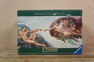 Complete RARE - Ravensburger Jigsaw Puzzle - 12000 piece- 2000 - Michelangelo
