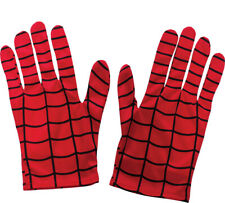 CHILD MARVEL COMICS SPIDERMAN GLOVES COSTUME ACCESSORY DRESS RU35631