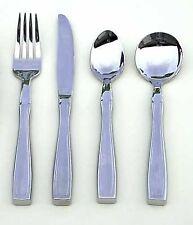 Sammons Preston Weighted Utensils (Set of 4, Fork Knife Teaspoon Soup Spoon)