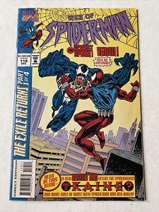 Web of Spiderman #119 Scarlet Spider vs Venom 1st Battle VF Kaine Marvel Comics