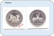 2000 PESETAS DE PLATA  JUAN CARLOS I   AÑO 1991     ( MB12026 )
