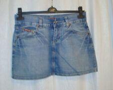 VTG Ladies REPLAY blue denim mini skirt sz 29 great co  Made in Italy LOVELY