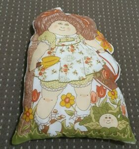 1983 Cabbage Patch Kids Cushion Gardening 42cm Tall Collectable Doll TV VINTAGE