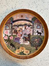 """Vintage Collectors Plate Return to Galilee b Hedi Keller 9.5"""" Konigszelt Bavaria"""