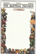 The Marvels Project Blank Sketch Cover Comic Book