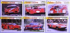 SIERRA LEONE 2001 4101-06 Ferrari Automobile Sportwagen Sports Cars Autos MNH