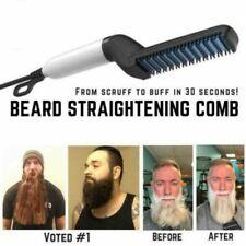 Men Quick Beard Straightener Styler Comb Multifunctional Hair Curling Hair Style