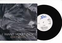 "7"" George Michael - I want your Sex ------"