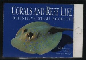 Singapore 1994 $2 Blue Spotted Stingray Booklet Sc# 684A NH
