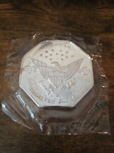 10 oz Silver .999 Octagon - American Silver Eagle Serial #1289 - Orig Package
