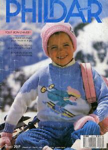 """catalogue tricot enfant  """" PHILDAR Mailles """" N° 153"""
