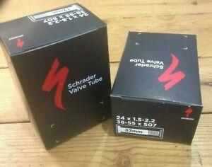 Inner tubes 24 x 1.5-2.2 (507 x 38-55). Schrader Valve. pack of 2.
