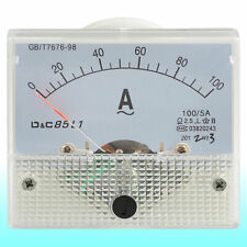Class 25 Accuracy Analog Ac 0 100a Scale Ampere Panel Meter Gauge