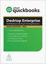 GOLD 3-USER - QuickBooks Enterprise 2020 Desktop Subscription!