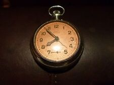All original MENTOR 7 JEWEL SWISS BREVET ALARM  POCKET WATCH. Classic!!! As is.