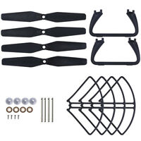 Kit of Blades Propeller Guards Landing Gears Motors for Holy Stone HS110D HS200D