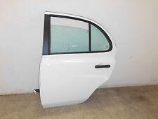 Nissan Micra III K12 Tür hinten links Tür Nissan Micra 3 K12 5-Türer 326G Weiß