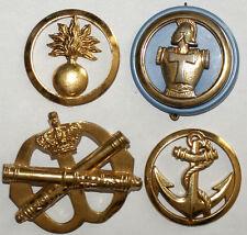 lot 4 insignes militaires a identifier (78) J