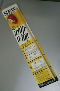 VINTAGE TOY WHIP-A-TOP SPINNING BY ESR INC DIGI-COMP 1967