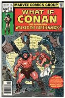 What If 13 1st Series Marvel 1979 NM- 1st Conan The Barbarian Regular Universe