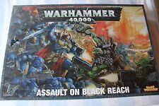 Games Workshop Warhammer 40k Assault am schwarzen erreichen OVP NEU versiegelt Spiel OOP