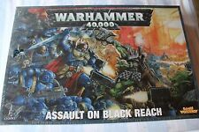 Games Workshop Warhammer 40k Assault on the Black Reach BNIB New Sealed Game OOP