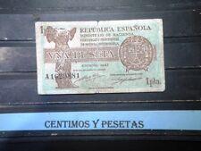 CyP Billete 1 Peseta Republica del 1937